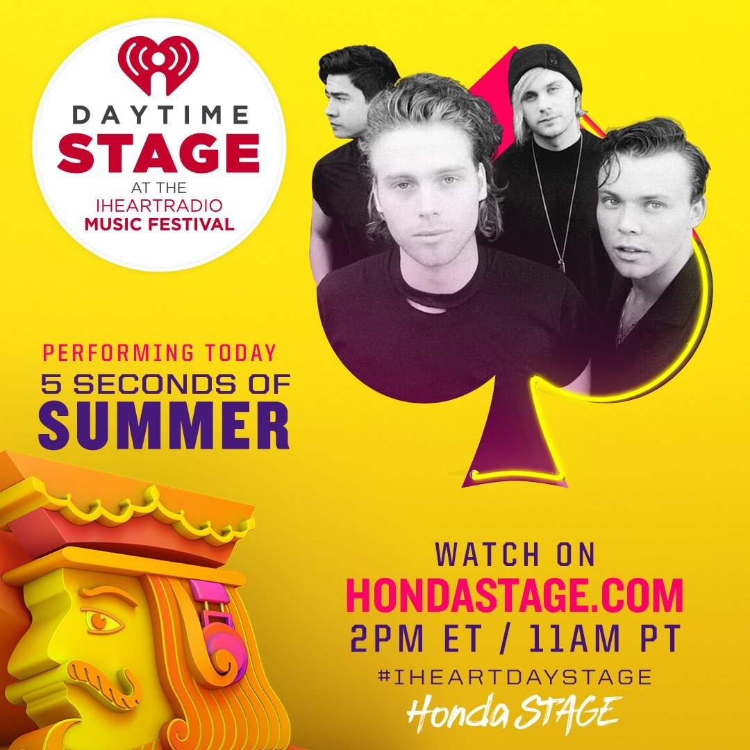 WE'RE LIVE // #IHEARTDAYSTAGE // https://t.co/qwKCTyXm7g