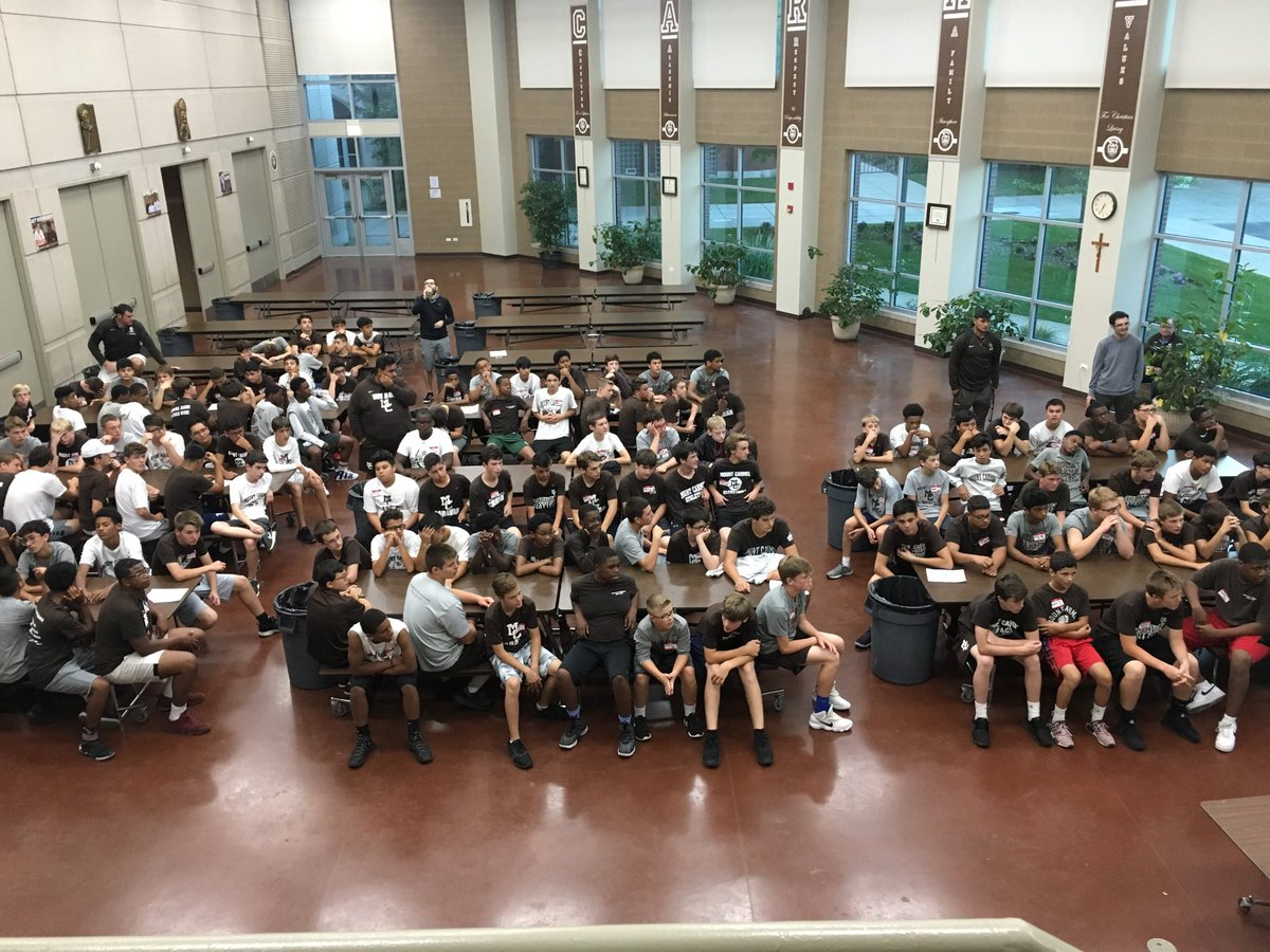 And it begins. The Class of 2022 Freshman Overnight is under way!!!