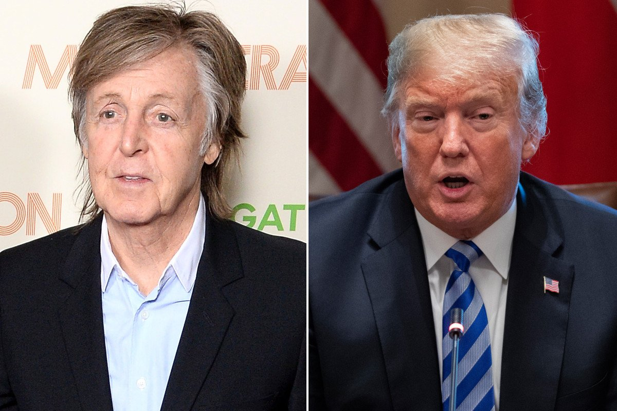 Paul McCartney reveals his new song about climate change is directed at Donald Trump nyp.st/2De0csa