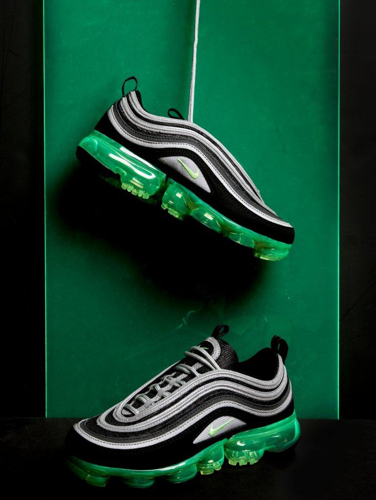 Nike Vapor Max 97 GS 'Volt' Available