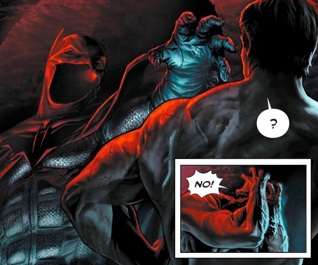 Is Bruce Wayne being plagued by his own demons, or something far more sinister? Share your review of BATMAN: DAMNED #1! #DCBlackLabel