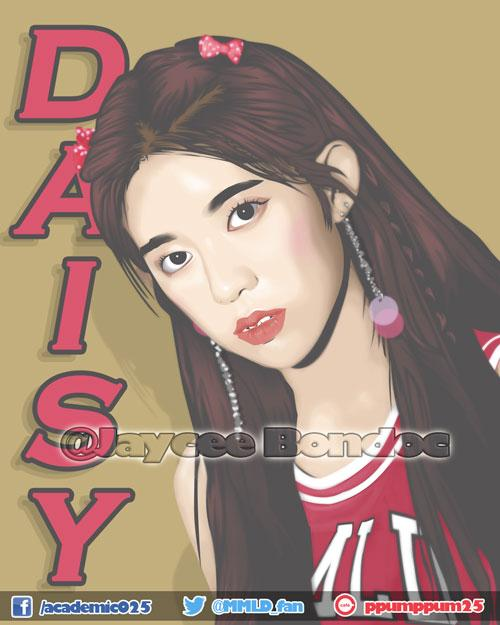 DAISY of @MMLD_Official  Momoland is not just a K-pop group, for me they are my inspiration  and the reason why I started learning vector art and making anime/chibi arts   I hope Daisy Stan&#39;s like my work  Tnx   #MOMOLAND #모모랜드  #BAAM #DAISY #데이지 #유정안<br>http://pic.twitter.com/USh8VItQpn