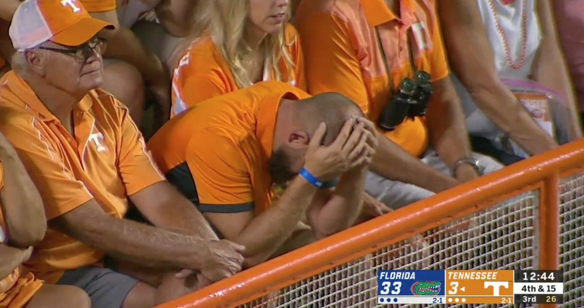 Its been that kind of game for Tennessee