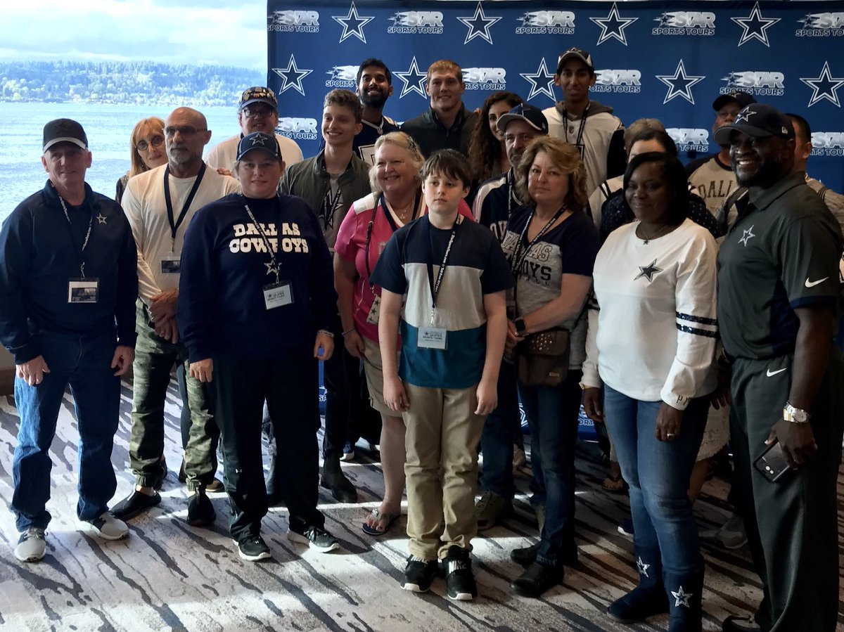 Star sports tours on twitter we had a great time at our meet at our meet greet this evening in seattle with dallas cowboys 1st round draft pick vanderesch38 spags52 from httpdallascowboys onlywithsst m4hsunfo