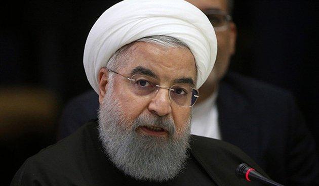 El presidente de Irán, Hasan Rohani