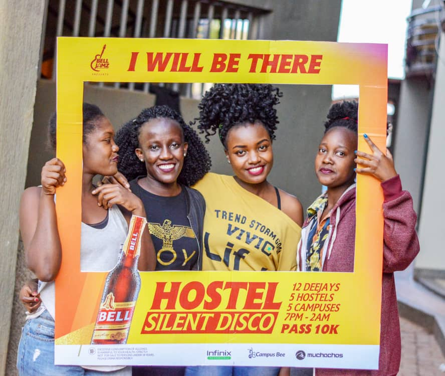 As lawyers start LDC tomorrow, they will never know any fun after that. What better way to usher in the Bar - @campusbeeug #BellJamzSilentDisco, it is a very legal celebration, this silent disco thingy.  MUBS Ideal Hostel is the place. 10k tax. <br>http://pic.twitter.com/GOCJB6r7Td