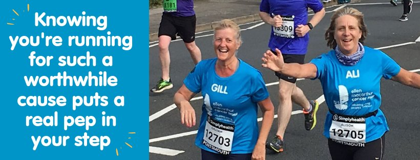Join our awesome Great South Run team! Sign up TODAY. Limited spaces available! FREE training plans and tips, marquee with secure bag drop, physiotherapist, personalised running top, goody bag and lots of support included ⬇️ #RunwithPurpose https://t.co/Jc2cD49ILJ yu