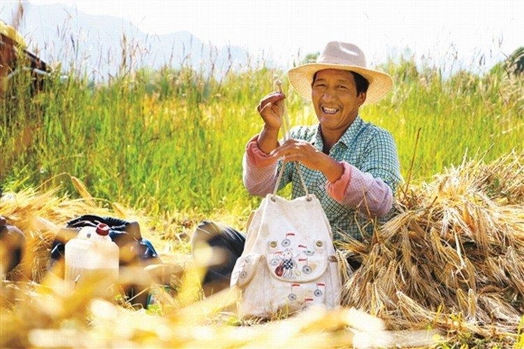 Dopo le #vacanze! Guarda, il sorriso più bello della #stagione del #raccolto in #Tibet  - Ukustom