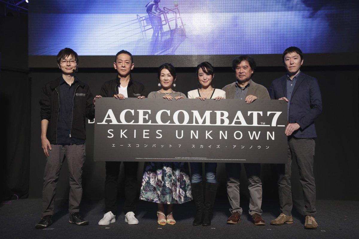 「『ACE COMBAT™ 7: SKIES UNKNOWN』スペシャルステージ」をご覧いただきありがとうございました!今後の「ACE COMBAT™ 7: SKIES UNKNOWN」の展開をお楽しみに!→https://t.co/fOsbVFjdB4 #TGS2018  #東京ゲームショウ  #ACE7 #エースコンバット