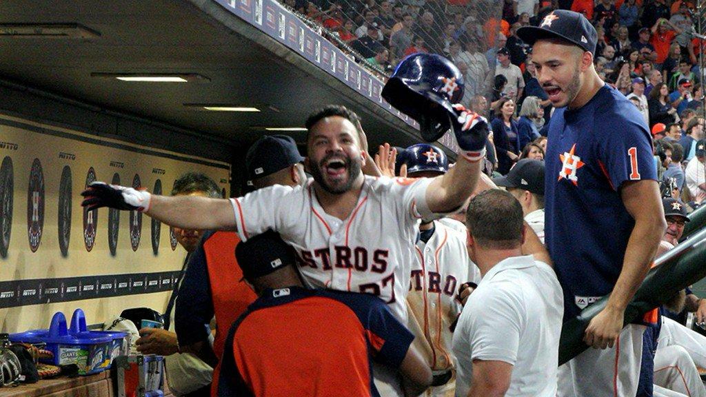 Astros rally for 9 runs in 8th, beats Angels 10-5 https://t.co/DQoHN7disu