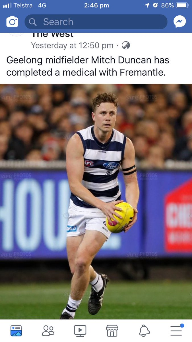 Surely not @GeelongCats bad move