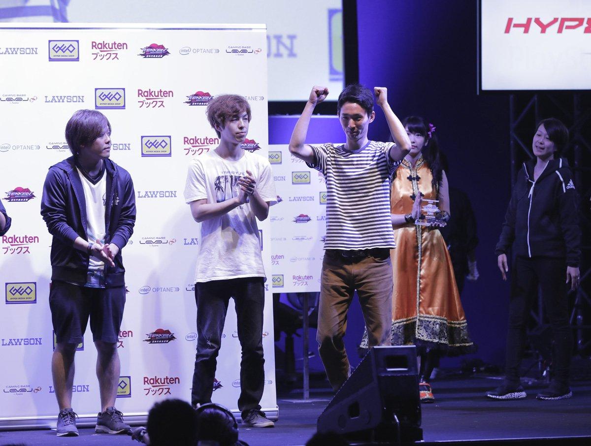 「鉄拳プロチャンピオンシップ 日本代表決定戦 Day2」をご覧いただきありがとうございました!優勝はキング使いの破壊王選手!見事、「日本代表選手」の権利を勝ち取りました! 今後の「鉄拳7」の展開をお楽しみに! →https://t.co/AwWL18Meuz #TGS2018  #東京ゲームショウ  #tekken7 #鉄拳7