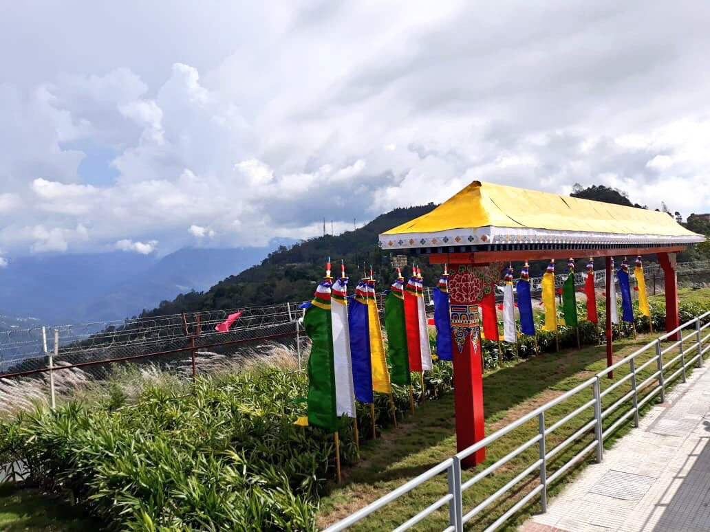 Glimpses from the Pakyong Airport in Sikkim, which PM @narendramodi will inaugurate tomorrow.