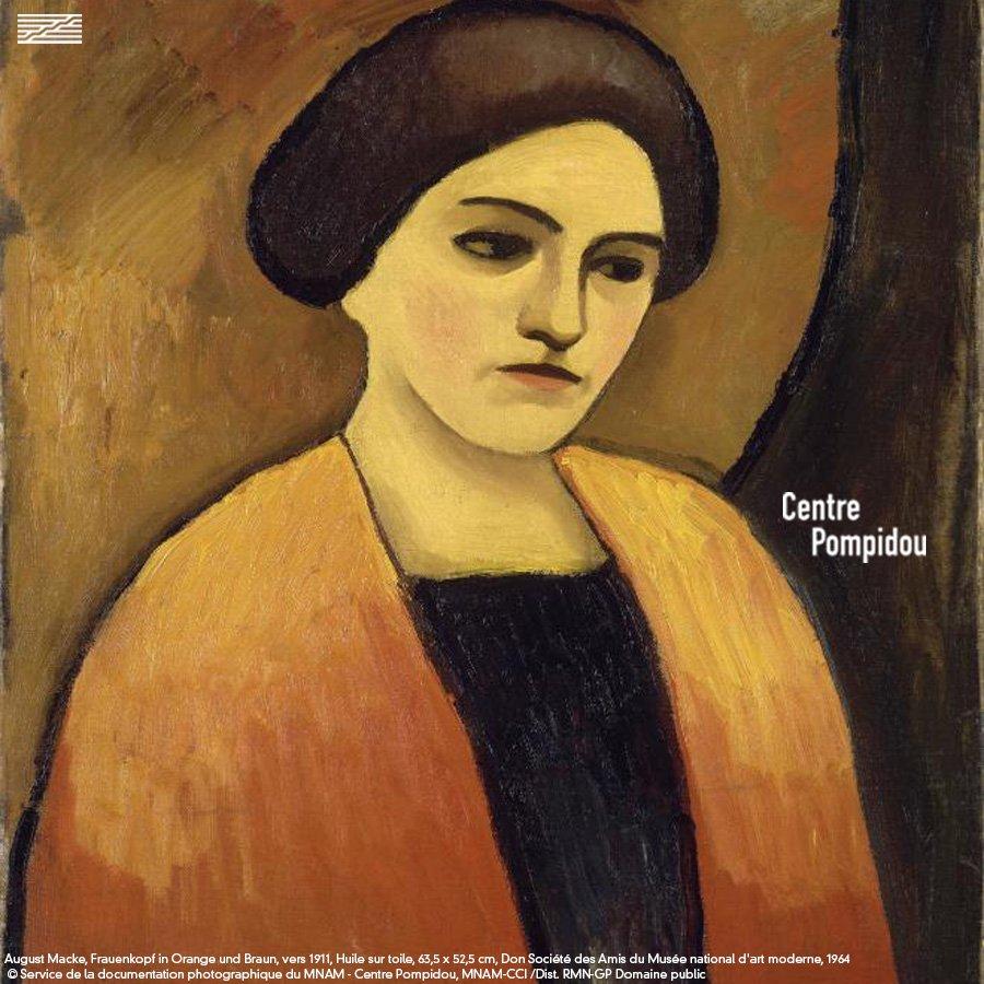 Couleurs 🍂🌰🎃  #Automne #Musée #Portrait #AugustMacke