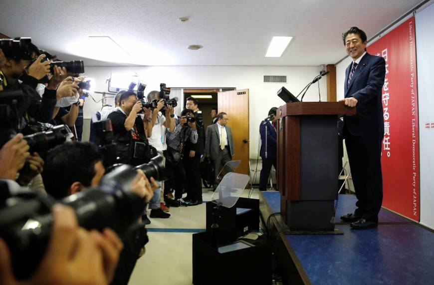 U.S. experts laud Abe on election win but warn against pushing for constitutional amendment https://t.co/kDKrisRp5Z https://t.co/JCWC0Ze4Jt