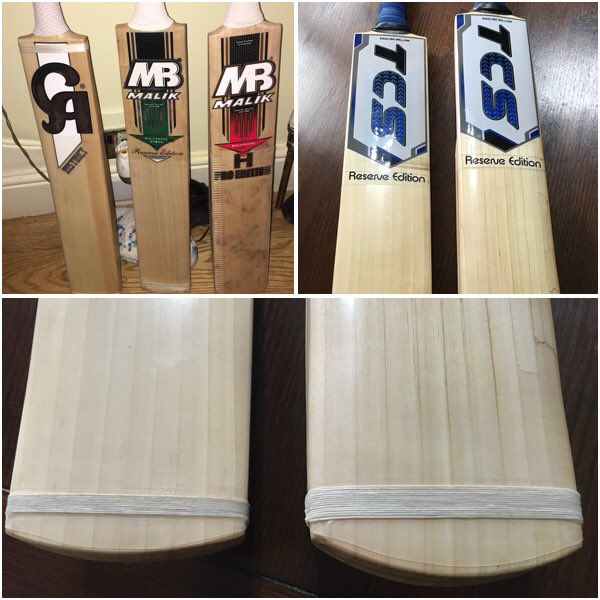 Once Again My Personal Bats Given The Tcs Makeover Check Out Before And After Pics Including Nicely Done Toe Bandage