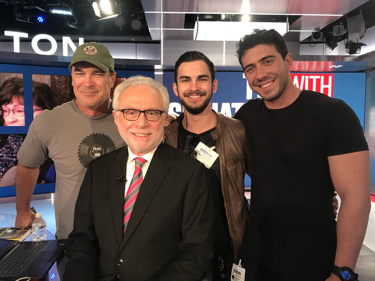 """Wolf Blitzer on Twitter: """"It was so nice to welcome ..."""