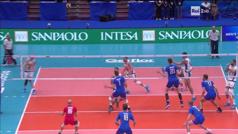In due momenti diversi #Zaytsev che schiaccia senza muro: #Giannelli gira in 2 e lo Zar colpisce senza pietà#VolleyMondiali18 #VolleyWorldFantaGalli #ItaliaRussia  - Ukustom