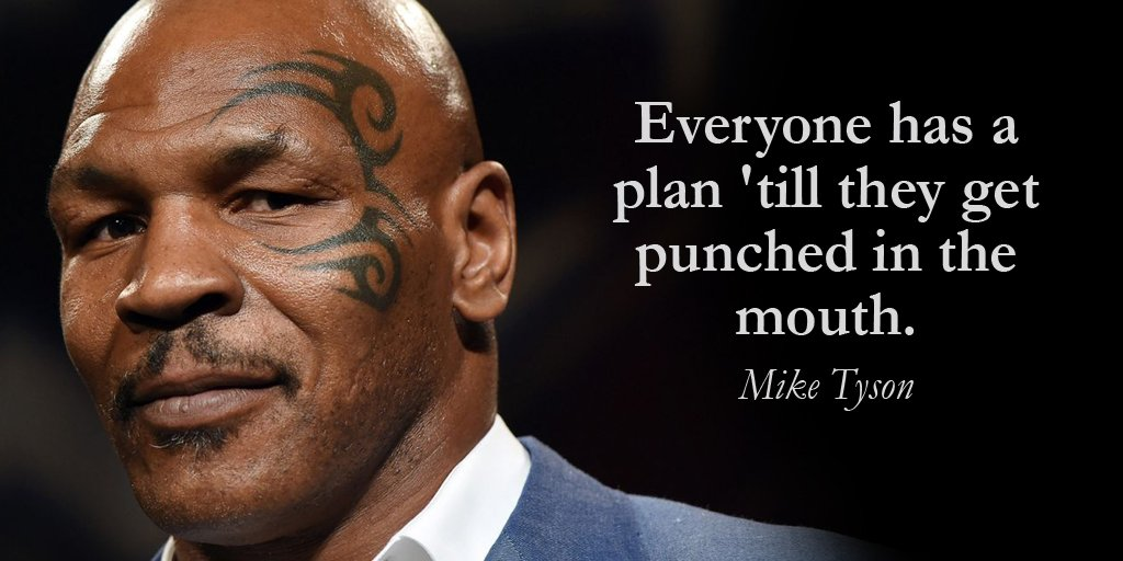 Image result for mike tyson quote plans