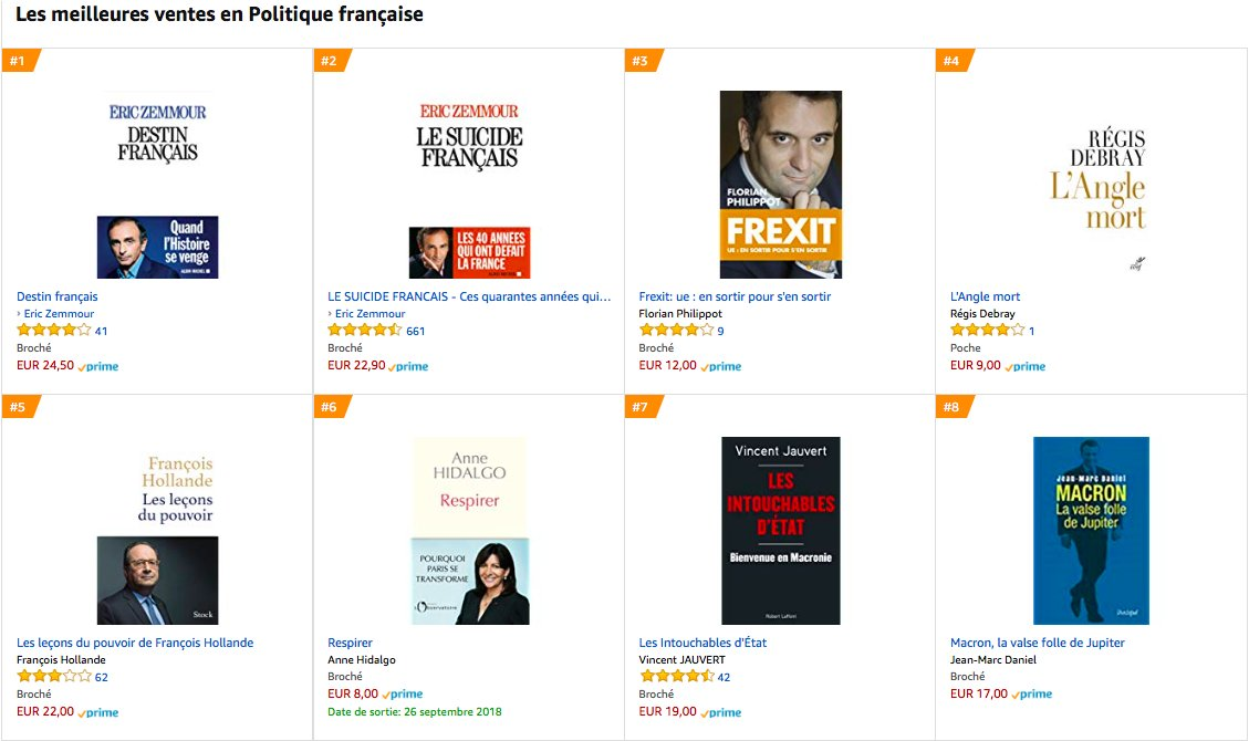 Thomas Laval On Twitter Sur Amazon Comme Sur Le Site De