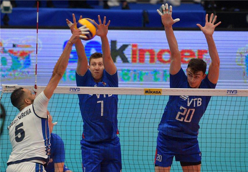 Mondiali Pallavolo Maschile 2018 Turno 2 Gara 2Russia 3-2 Italia(19-25; 25-18; 25-21; 19-25; 15-11)Italia qualificata per le Finali a Torino![Foto @Federvolley]#VolleyMondiali18 #VolleyballWchs #incampoconDHL #ItaliaRussia #LaNazionale #volleyball #pallavolo #ILoveVolley  - Ukustom
