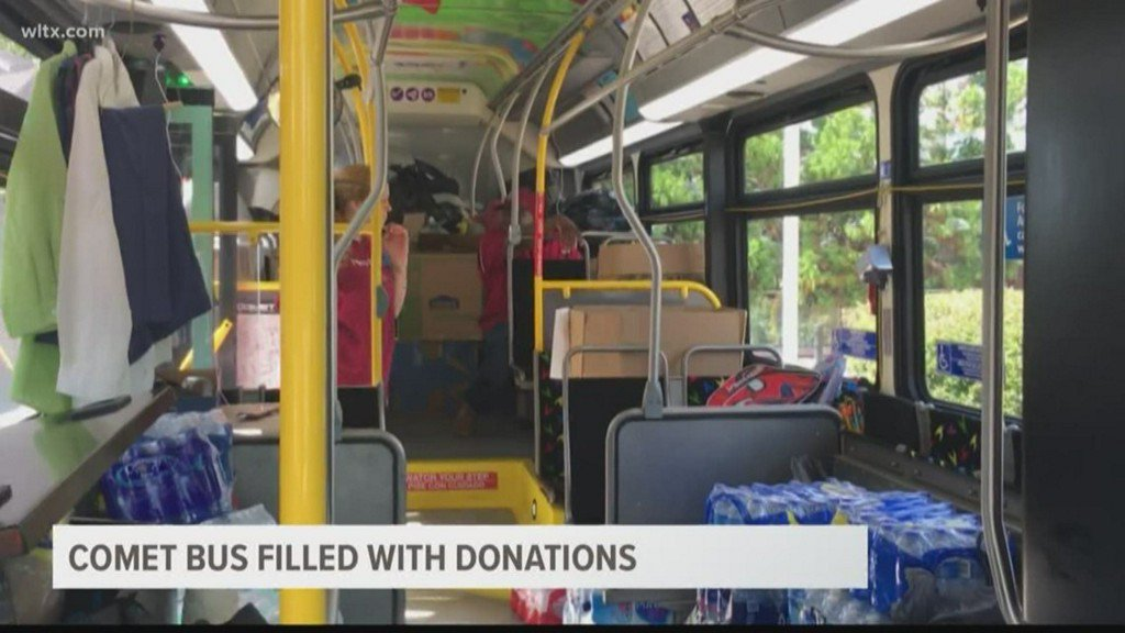 Comet Bus Filled with Donations for Florence Relief https://t.co/nZwjZ61t1w