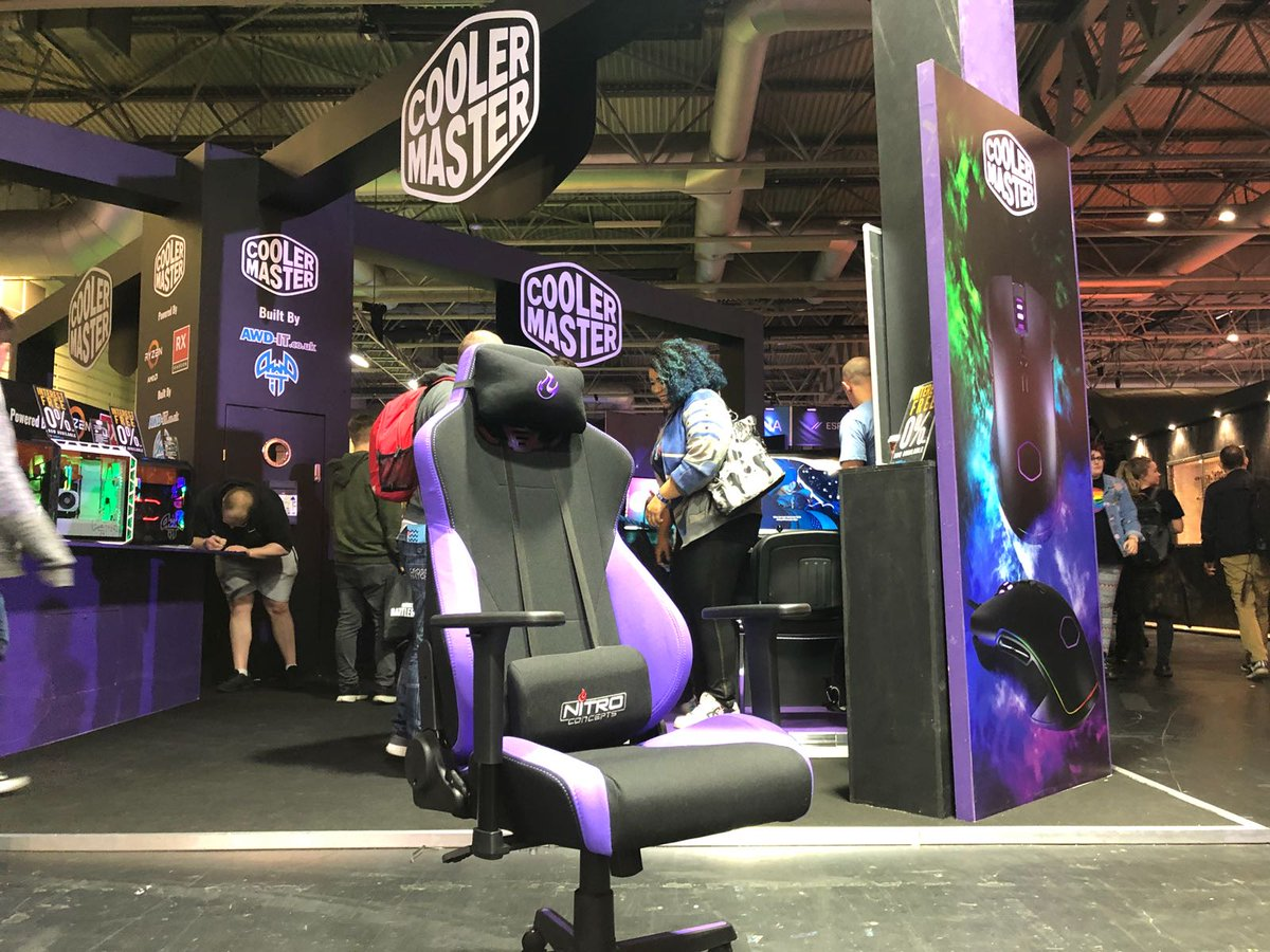 Who Is At Egx Today Retweet To Win This Cm Purple Nitro_concepts Gaming Chair And Take It Home At The End Of The Day We Will Announce The Winner At