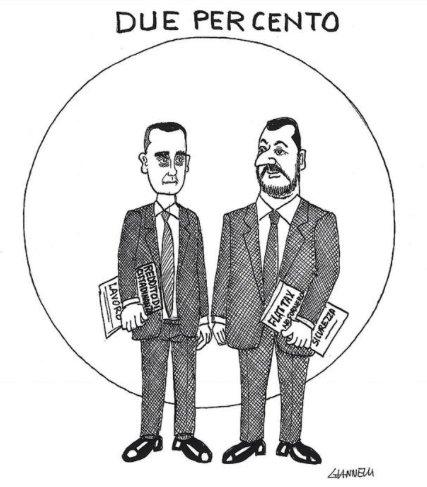 Oggi #Giannelli ritrae la coppia di governo come due Testimoni di Geova che fanno il porta-a-porta. Il seguito dell'esegesi qui.  https:// www.facebook.com/CapireGiannelli/photos/a.836190633155359/1826485844125828/?type=3&theater  - Ukustom