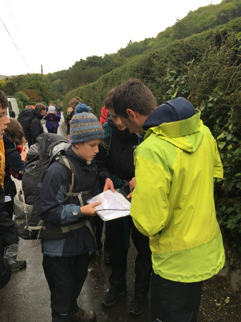 DofE pics from Saturday.  Damp but undaunted, the sixty nine Beechen Cliff and Hayesfield pupils march towards their destination.