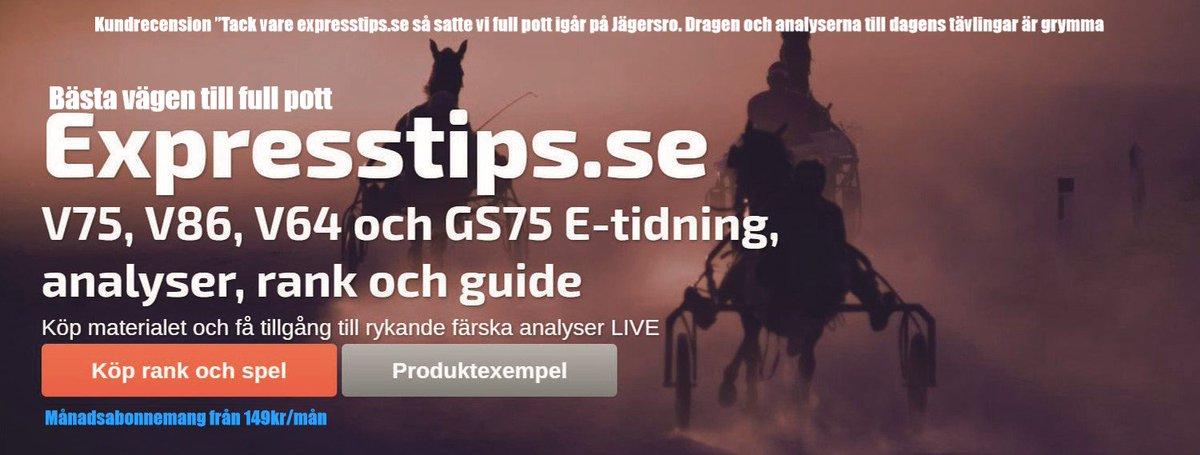 Sportbladets tips till v75 pa bergsaker