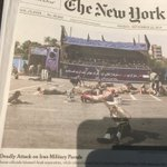 """It was NOT a """"deadly attack,""""@nytimes.  It was a """"deadly TERRORIST attack,"""" pure and simple. #Iran"""