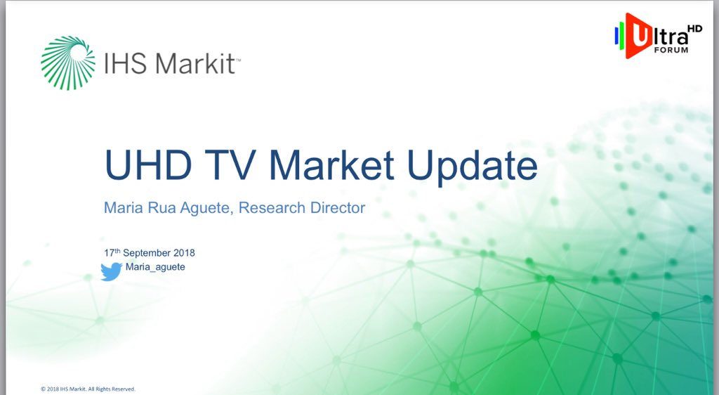 UHD Forum Masterclass @IBCShow #IBC2018 slides are now available for download. Great  overview of the current state of #UHD and #HDR #4k . Thanks to the @UltraHDForum for organizing this event.  https:// ultrahdforum.org/wp-content/upl oads/UHD-Forum-Masterclass-IBC-2108C.pdf  …  @YoeriGeutskens @UHD4k @_UHDAlliance @IHSMarkitTech<br>http://pic.twitter.com/hKKR00DpwO