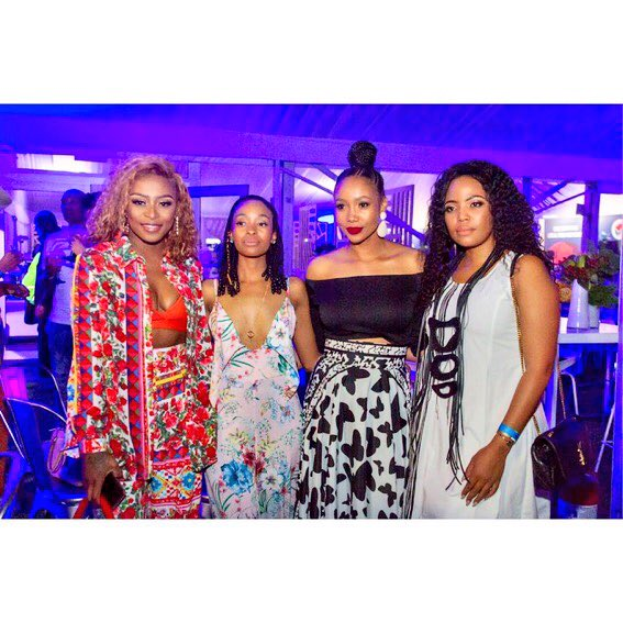 Spent my Saturday with @Visa_SA and these awesome ladies at the #DStvDelicious #VisaGetCloser