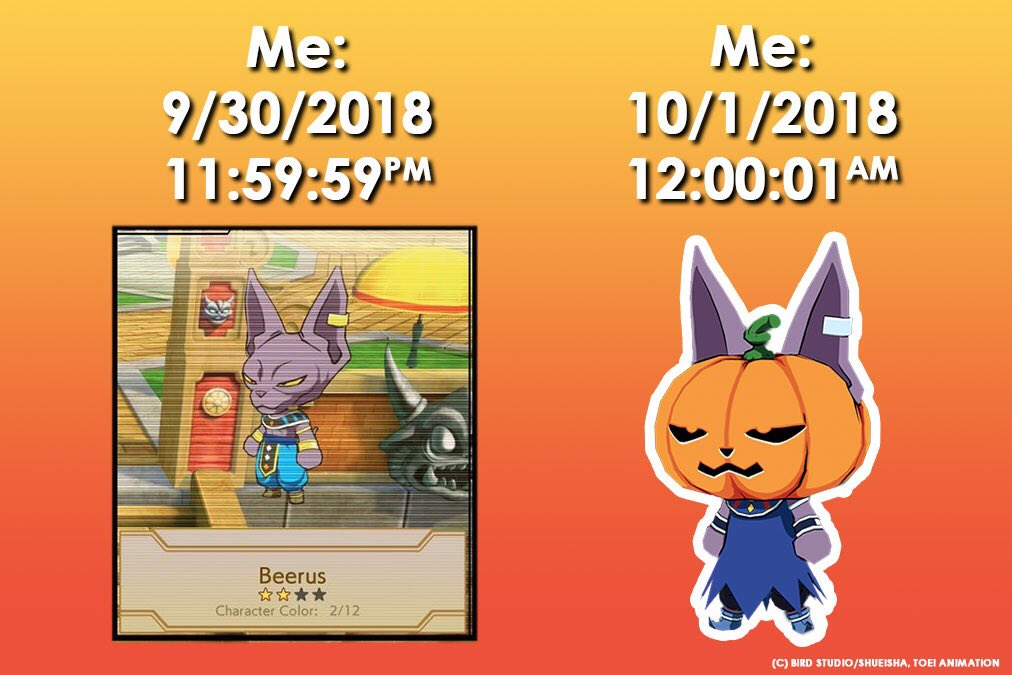 Time to get spooky! #DRAGONBALLFighterZ