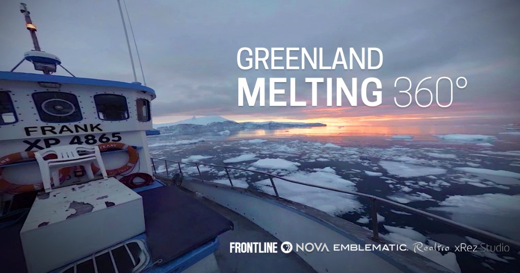 Greenland's glaciers are melting faster and faster. Follow a @NASA team trying to figure out why — and what this could mean for coastal cities around the world — in this 360° from FRONTLINE @novapbs @RealtraVR xRez Studio & . @EmblematicGrouphttps://t.co/muqPTSqP6E