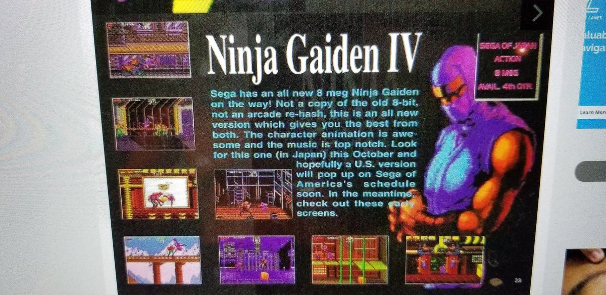 The Game Chasers On Twitter Wow Did You Know Ninja Gaiden 4 Was