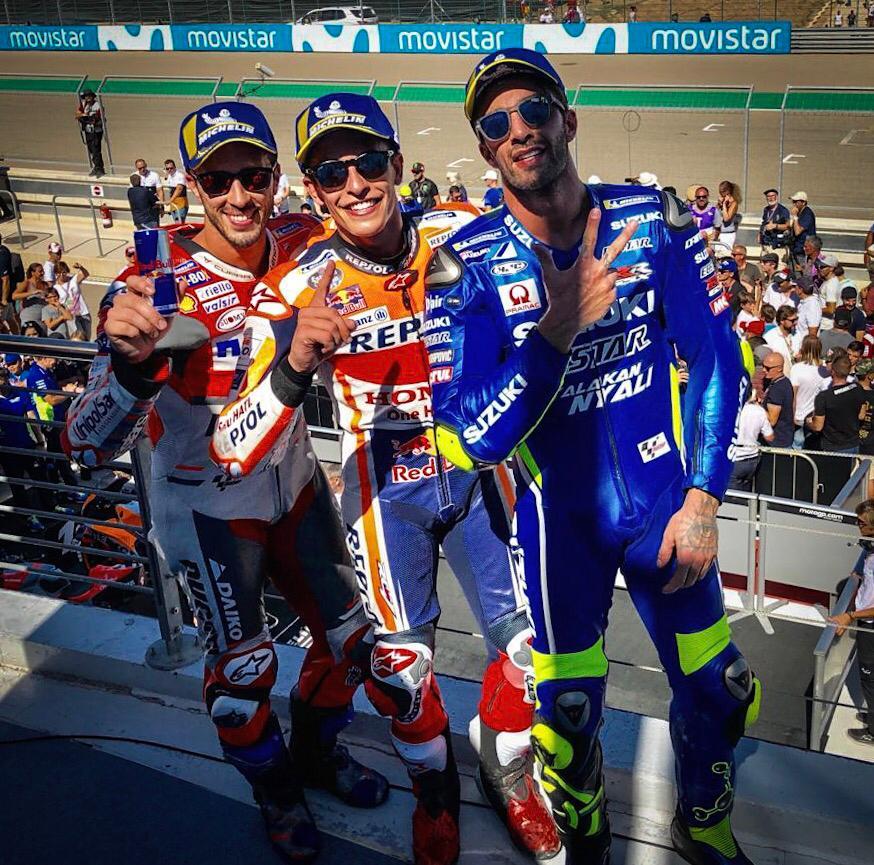 MOTO GP GRAND PRIX D'ARAGON 2018 DnyBE7zX0AA9Cf8