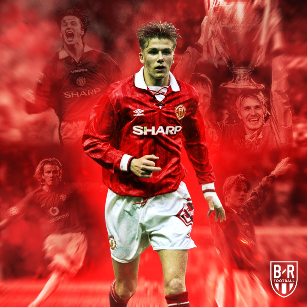 26 years ago today, a 17-year-old David Beckham made his debut for Manchester United 🔥