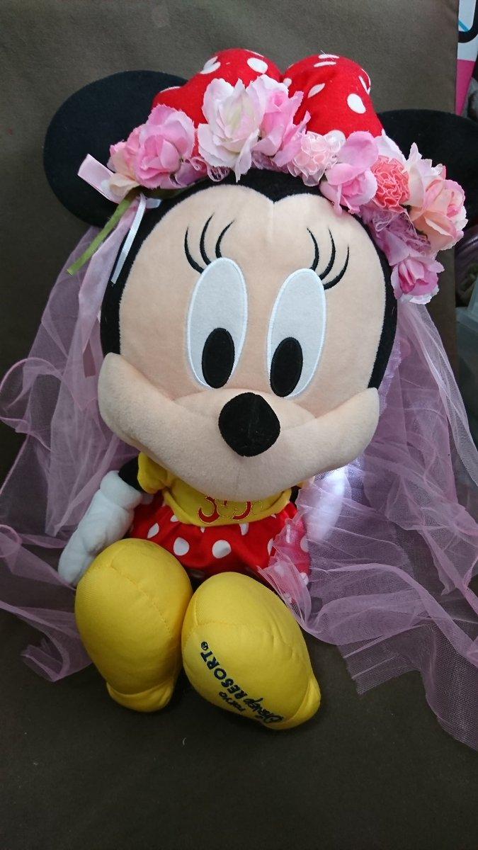 test ツイッターメディア - みにちゃ様とねえさん様のツイートに感動して、花嫁カチューシャ作ってみたんだけど、ゲストの花冠になってしまった(;´Д`) でも大満足!!全てダイソーです #花嫁カチューシャ #ハンドメイド #ダイソー https://t.co/Cg80JGOm4k