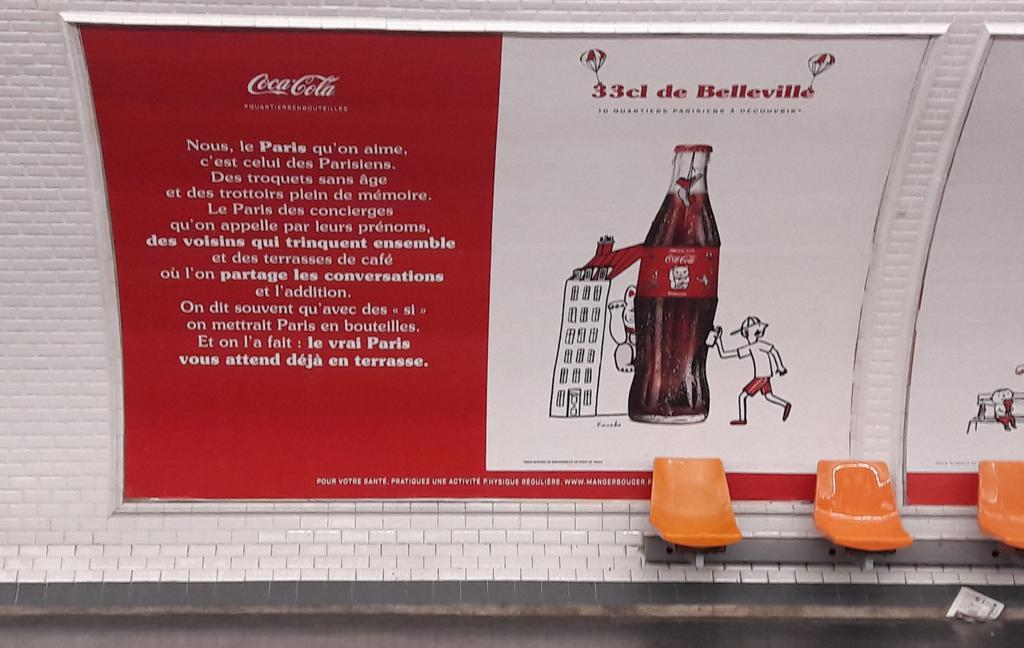 #cocacola, moi le Paris que j\