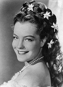 Happy birthday to the incomparably beautiful Romy Schneider. Sissi (Marischka 1955).