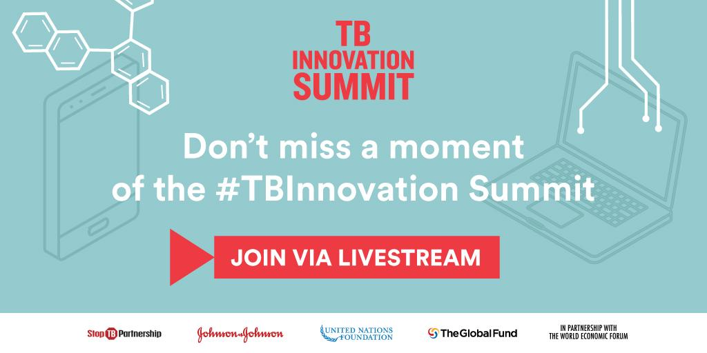 What will it take to #endTB by 2030? Find out at the first-ever #TBInnovation Summit! Tune in today via livestream from 1-4pm EST for the latest inspiration, ingenuity & action in the fight against TB: https://t.co/TUhhPyhXug