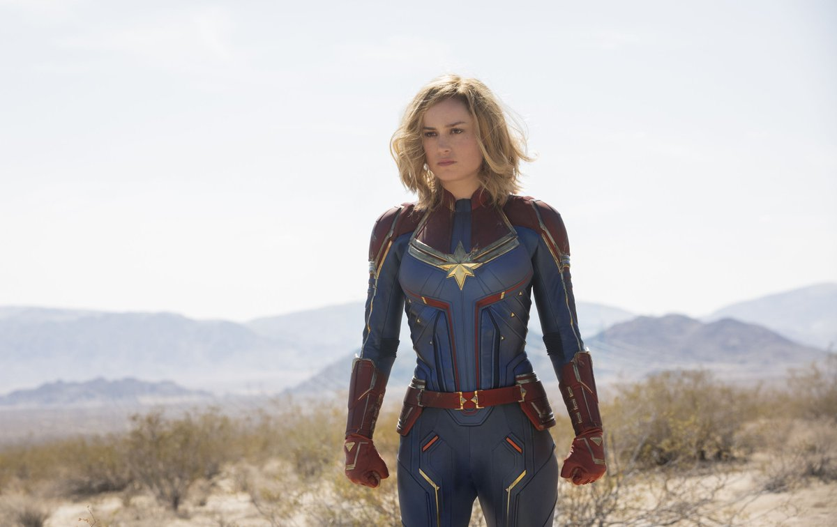 Brie Larson was told to 'smile more' after Captain Marvel's trailer debuted. She responded, exposing gendered criticism through reimagining what male superheroes would look like if they smiled more. https://t.co/ZNBzMgYInu