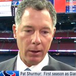 Image for the Tweet beginning: Coach Pat Shurmur discusses the