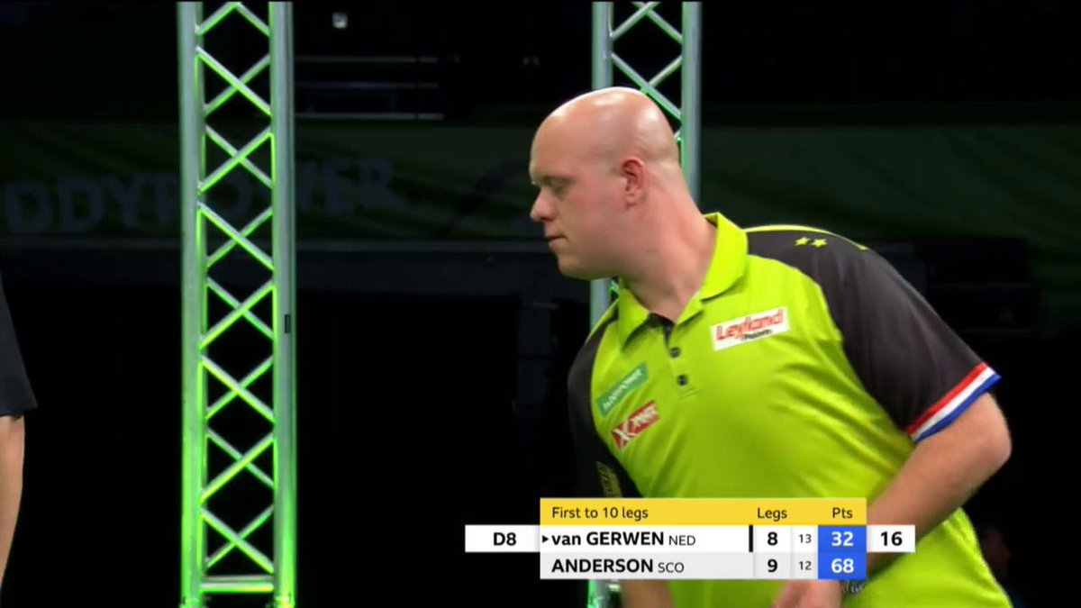 Champions League of Darts: MvG naar de halve finale