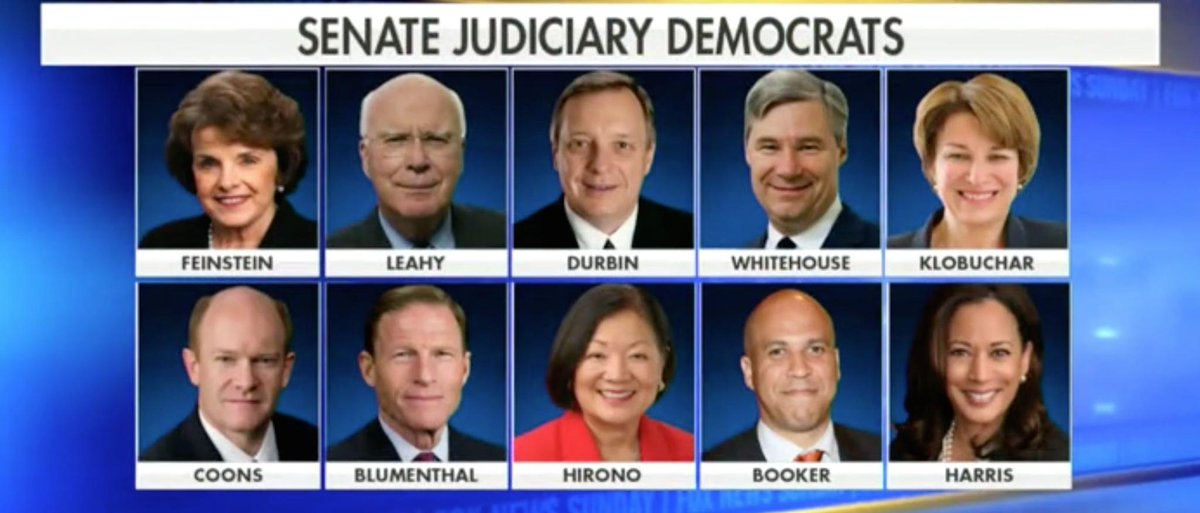 Fox's Chris Wallace: All 10 Senate Judiciary Dems Refused Invites For Second Week https://t.co/CFQly6LwXf
