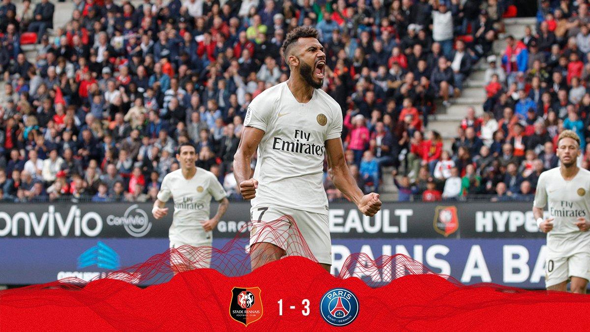 نادي باريس سان جيرمان On Twitter أول هدف وأول احتفال لمهاجمنا إيريك ماكسيم تشوبو موتينغ Srfcpsg