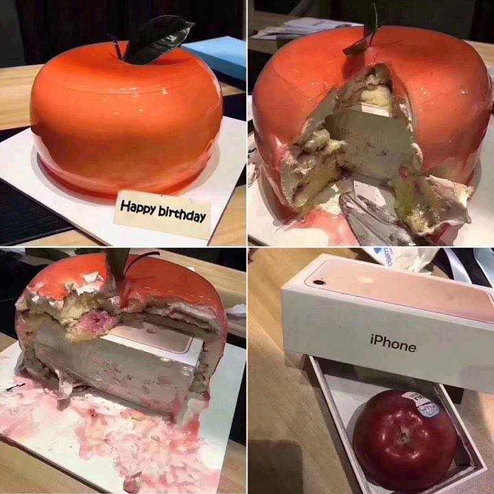 Mvmad69 When They Say It S An Apple It S An Apple Cake