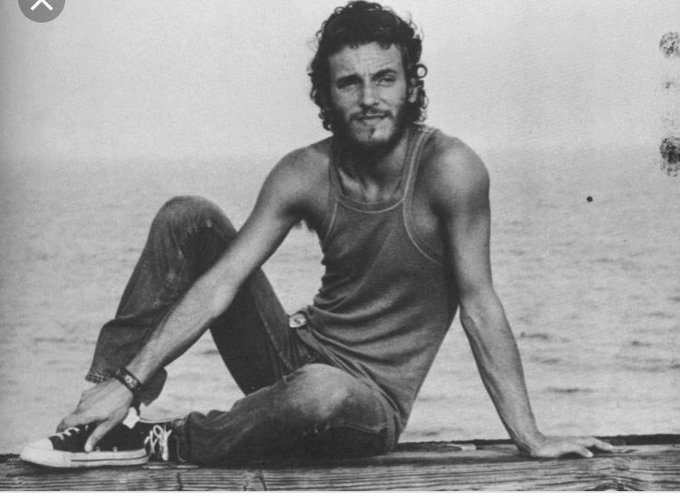 Happy birthday to my two best pals, Bruce Springsteen and
