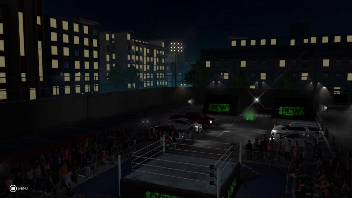 Lets talk about how great @TripleHs zombie ring entrance is on #WWE2K19...